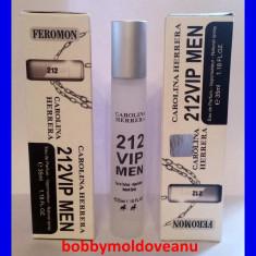 PARFUM BARBAT COLECTIA FEROMON CAROLINA HERRERA 212 VIP 35ML - Parfum barbati Carolina Herrera, Altul