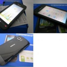 Telefon Nokia C5-03 nou original in cutie - Telefon mobil Nokia C5-03, Albastru, Neblocat