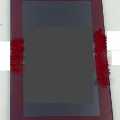 LCD+Touchscreen cu Rama Samsung Galaxy Tab 2 7.0 P3100 rosu swap original - Display LCD