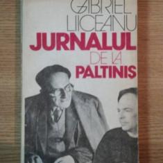 JURNALUL DE LA PALTINIS - GABRIEL LIICEANU - Roman