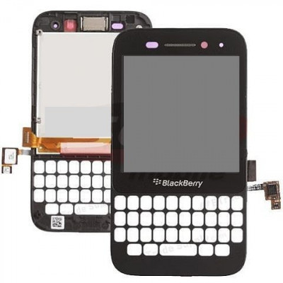 LCD+touchscreen si rama BlackBerry Q5 versiunea 001/111 Original foto