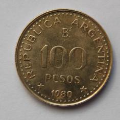 100 PESOS 1980 ARGENTINA