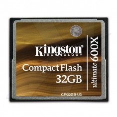 Card memorie Kingston CF/32GB-U3 Ultimate 600x, RS MMCDV