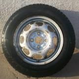 Rezerva ingusta Fiat 145 80 R13 - Janta tabla