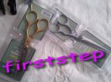 Set kit frizerie coafor COMPLET cu foarfeca profesionala foarfece tuns filat  OFERTA REDUCERE!!!