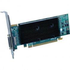 PLACA GRAFICA PROFESIONALA MATROX M9140 512MB SUPORTA 4 MONITOARE FULLHD-PERFECT FUNCTIONALA! - Placa video PC Matrox, PCI Express, Altul
