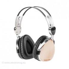 CASTI AUDIO KRUGER&MATZ (ARTAR), Casti On Ear, Cu fir, Mufa 3, 5mm, Active Noise Cancelling