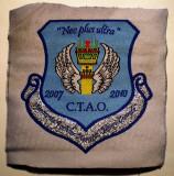 5.500 ROMANIA ECUSON MILITAR ARMATA AVIATIE AFA HENRI COANDA BRASOV CONTROLOR