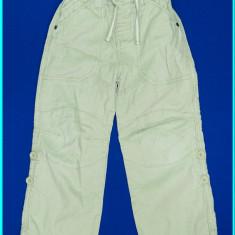DE FIRMA _ Pantaloni in+bumbac, reglabili, calitate NEXT _ baieti | 4 - 5 ani, Marime: Alta, Culoare: Bej