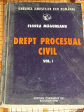 RWX 03 - DREPT PROCESUAL CIVIL - FLOREA MAGUREANU - VOLUMUL I - EDITATA IN 1996