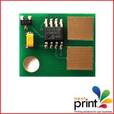 CHIP CARTUS TONER compatibil LEXMARK T520, T 522, capacitate 20.000 pagini. - Chip imprimanta