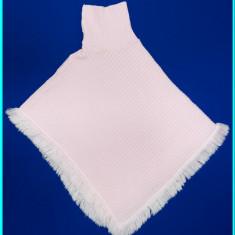 FOARTE FRUMOS _ Poncho roz, marca K&L RUPPERT _ fete | 12 - 13 ani | 164 cm, Marime: Alta