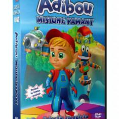 Adibou - Misiune Pamant - Colectie 7 DVD-uri Desene Educative Dublate Romana
