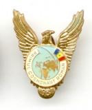 INSIGNA AVIATIE AVIATIA PRIMUL COSMONAUT ROMAN PILOT