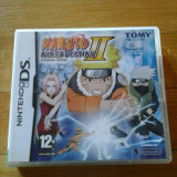 JOC NINTENDO DS NARUTO NINJA DESTINY 2 EUROPEAN VERSION ORIGINAL / STOC REAL / by DARK WADDER