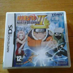 JOC NINTENDO DS NARUTO NINJA DESTINY 2 EUROPEAN VERSION ORIGINAL / STOC REAL / by DARK WADDER - Jocuri Nintendo DS, Actiune, 12+, Single player