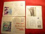3 Intreguri Postale - TURISM -1963- 1968