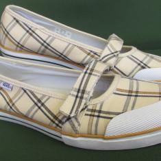 Pantofi tenisi Vans femei de panza originali, marime 40 EU (25.5 cm) - Tenisi dama, Culoare: Crem