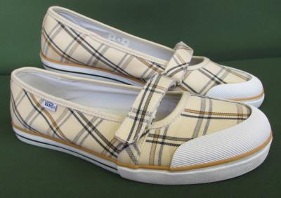 Pantofi tenisi Vans femei de panza originali, marime 40 EU (25.5 cm) foto