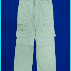 2 IN 1, DEOSEBITI _ Pantaloni lungi/scurti, detasabili, C&A _ baieti | 8 - 9 ani, Marime: Alta, Culoare: Gri