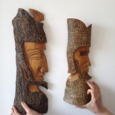 Frumoase Sculpturi in scoarta de copac !!! - Sculptura, Abstract, Lemn, Europa