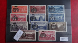 Mz337-1948-  Mihai 1-vederi cu supratipar-   Timbre Romania Nestampilate