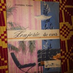 Lenjerie de casa/ cu numeroase figuri( croitorie)- Ecaterina Tomida - Lenjerie de pat