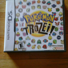 JOC NINTENDO DS POKEMON TROZEI! ORIGINAL / STOC REAL / by DARK WADDER - Jocuri Nintendo DS Altele, Arcade, 3+, Single player