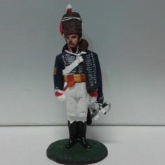 Soldat din plumb - Sergeant Major 15th Hussars 1808 scara 1:32, peste 14 ani, Unisex