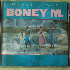 Raritate BONEY M - Happy Songs - C D Original ca NOU - Muzica Pop ariola