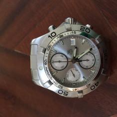 Ceas TAG HEUER AQUARACER AUTOMATIC 300 m cu CHRONOGRAPH - Ceas barbatesc Tag Heuer, Mecanic-Automatic, Cronograf, 2000 - prezent