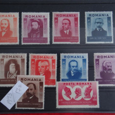 Mz340-1943-Figuri ardelene Timbre Romania Nestampilate-serie completa