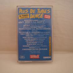 Vand caseta audio Plus De Tubes Dance vol.2.Originala, !