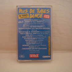 Vand caseta audio Plus De Tubes Dance vol.2.Originala, ! - Muzica Pop warner, Casete audio