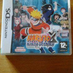 JOC NINTENDO DS NARUTO NINJA DESTINY EUROPEAN VERSION ORIGINAL / STOC REAL / by DARK WADDER - Jocuri Nintendo DS Altele, Actiune, 12+, Single player
