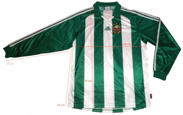 Bluza fotbal ADIDAS RAPID Clima Lite originala (L spre XL) cod-171166 foto mare