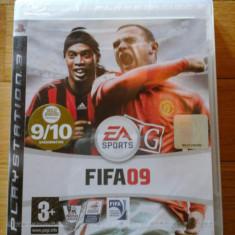 JOC PS3 FIFA 09 SIGILAT ORIGINAL / STOC REAL in Bucuresti / by DARK WADDER