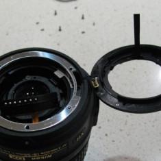 Montura inlocuitoare pentru obiectiv Nikon 18- 55, 18- 105 - Inel adaptor obiectiv foto