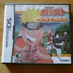 JOC NINTENDO DS NARUTO PATH OF THE NINJA SHONEN JUMP ORIGINAL / STOC REAL / by DARK WADDER - Jocuri Nintendo DS Altele, Actiune, 12+, Single player