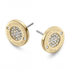 Cercei Dama Michael Kors Heritage Lady Cristal Top Luxury 3 Culori Aurii/Argintii/Roz| CEL MAI MIC PRET GARANTAT | CALITATE GARANTATA