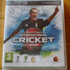 JOC PS3 INTERNATIONAL CRICKET 2010 SIGILAT ORIGINAL / STOC REAL in Bucuresti / by DARK WADDER, Sporturi, 3+, Multiplayer, Codemasters