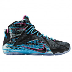 Ghete baschet Nike LeBron 12 | 100% originale, import SUA, 10 zile lucratoare - Adidasi barbati Nike, Marime: 40, Culoare: Din imagine