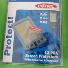 Folie protectie display touch universala ednet set 12 buc Palm M100 M05 MAS202