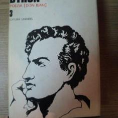 OPERE 3 - POEZIA DON JUAN de BYRON, 1987 - Roman