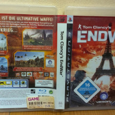 Tom Clancy's End War EndWar (PS3) (ALVio) + sute de alte jocuri  ( VAND / SCHIMB )