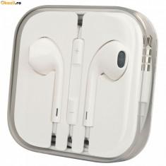 Casti iPhone 6 MD827ZM/A albe - Handsfree GSM
