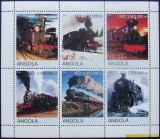 ANGOLA 2000 - LOCOMOTIVE, 1 M/SH NEOBLITERATA, POSTA PRIVATA - PP 234