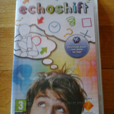 JOC PSP ECHOSHIFT SIGILAT ORIGINAL / STOC REAL / by DARK WADDER - Jocuri PSP Sony, Arcade, 3+, Single player