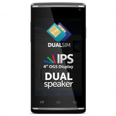 Allview E2 Living - Telefon Allview, Negru, 4GB, Neblocat, Dual SIM, Dual core