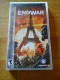 JOC PSP TOM CLANCY's END WAR ORIGINAL / STOC REAL / by DARK WADDER, Strategie, 12+, Single player, Ubisoft